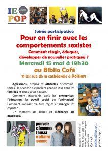 Rencontre participative : Pour en finir avec les comportements sexistes Comment réagir, éduquer, développer de nouvelles pratiques ? @ Biblio Café | Poitiers | Nouvelle-Aquitaine | France