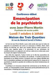 Émancipation de la psychiatrie @ M3Q - Maison des Trois Quartiers | Poitiers | Nouvelle-Aquitaine | France